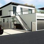 Maison toit plat à Brumath