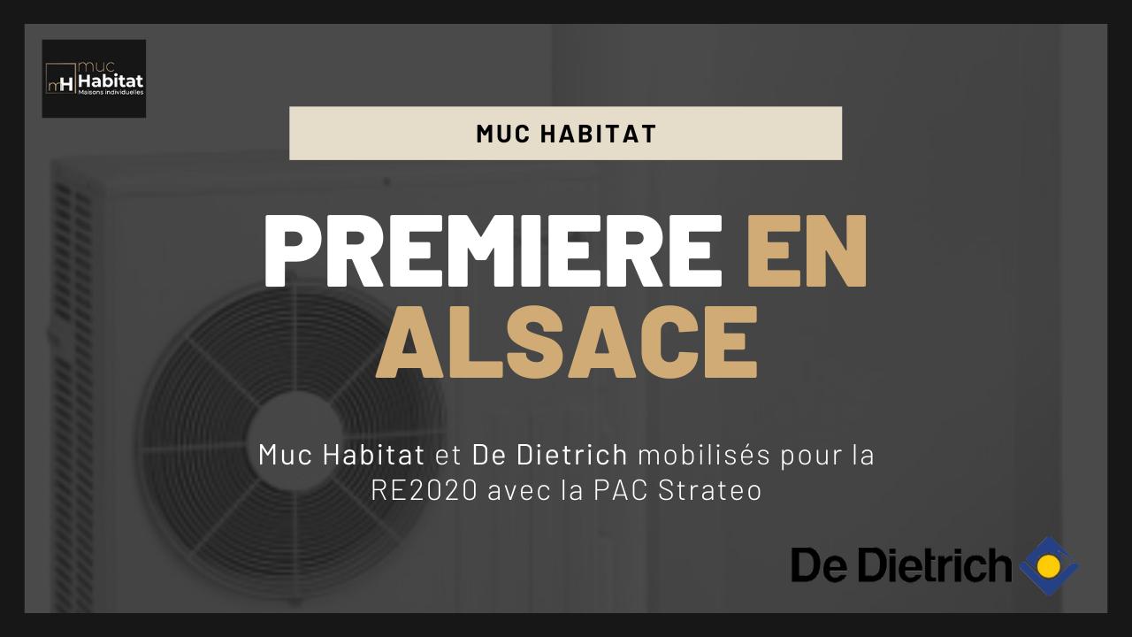 Muc Habitat et De Dietrich mobilisés pour la RE2020 avec la PAC Strateo