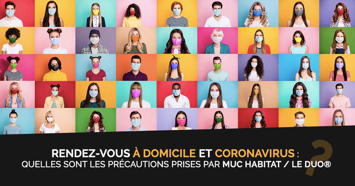 Coronavirus et Rendez-Vous à domicile : ce qu'il faut savoir