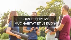 Soirée sportive Muc Habitat !