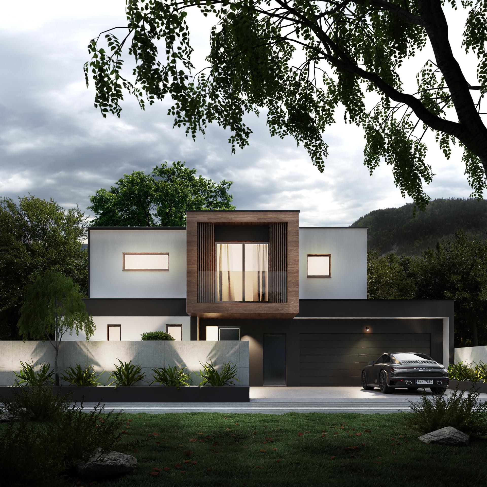 Maison à toit plat Haguenau