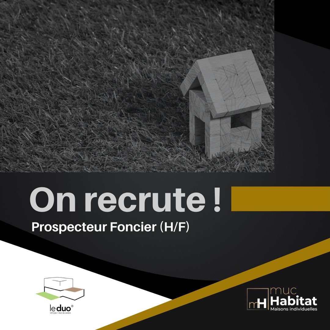 Offre d'emploi : Prospecteur Foncier (H/F)