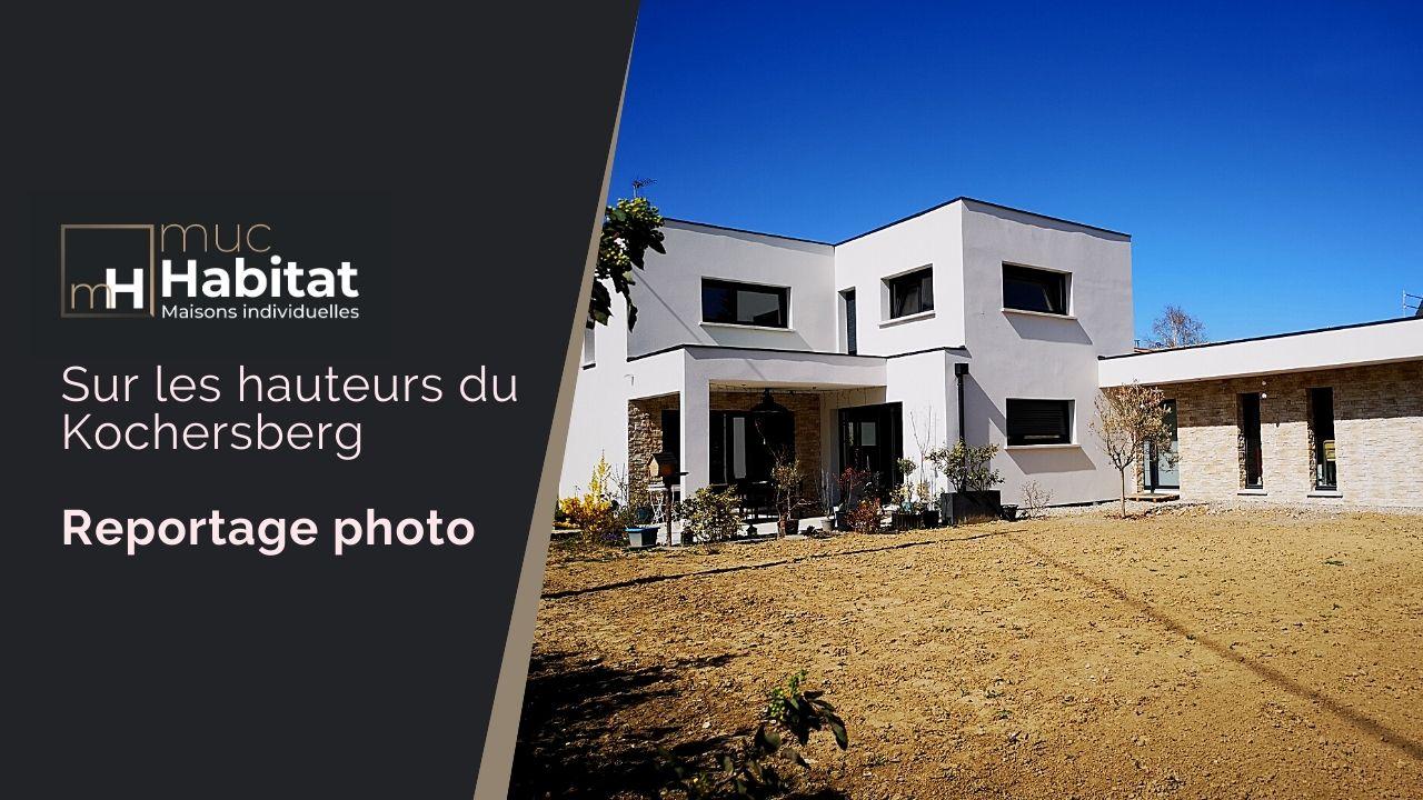 #01 – Reportage Photo d'une maison à toit plat sur les hauteurs du Kochersberg